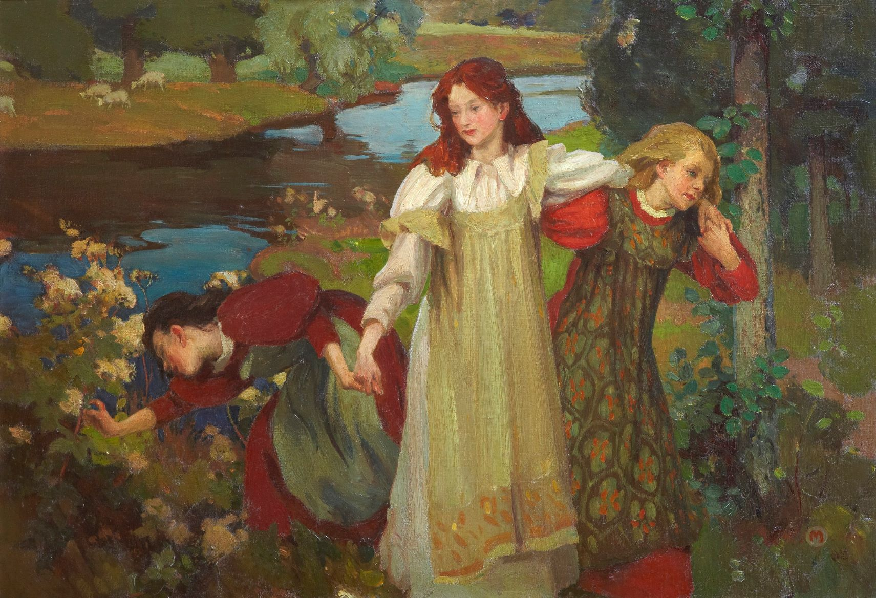 Charles H. Mackie There were Three Maidens pud a Flower (By the Bonnie Banks o Fordie) c.1897