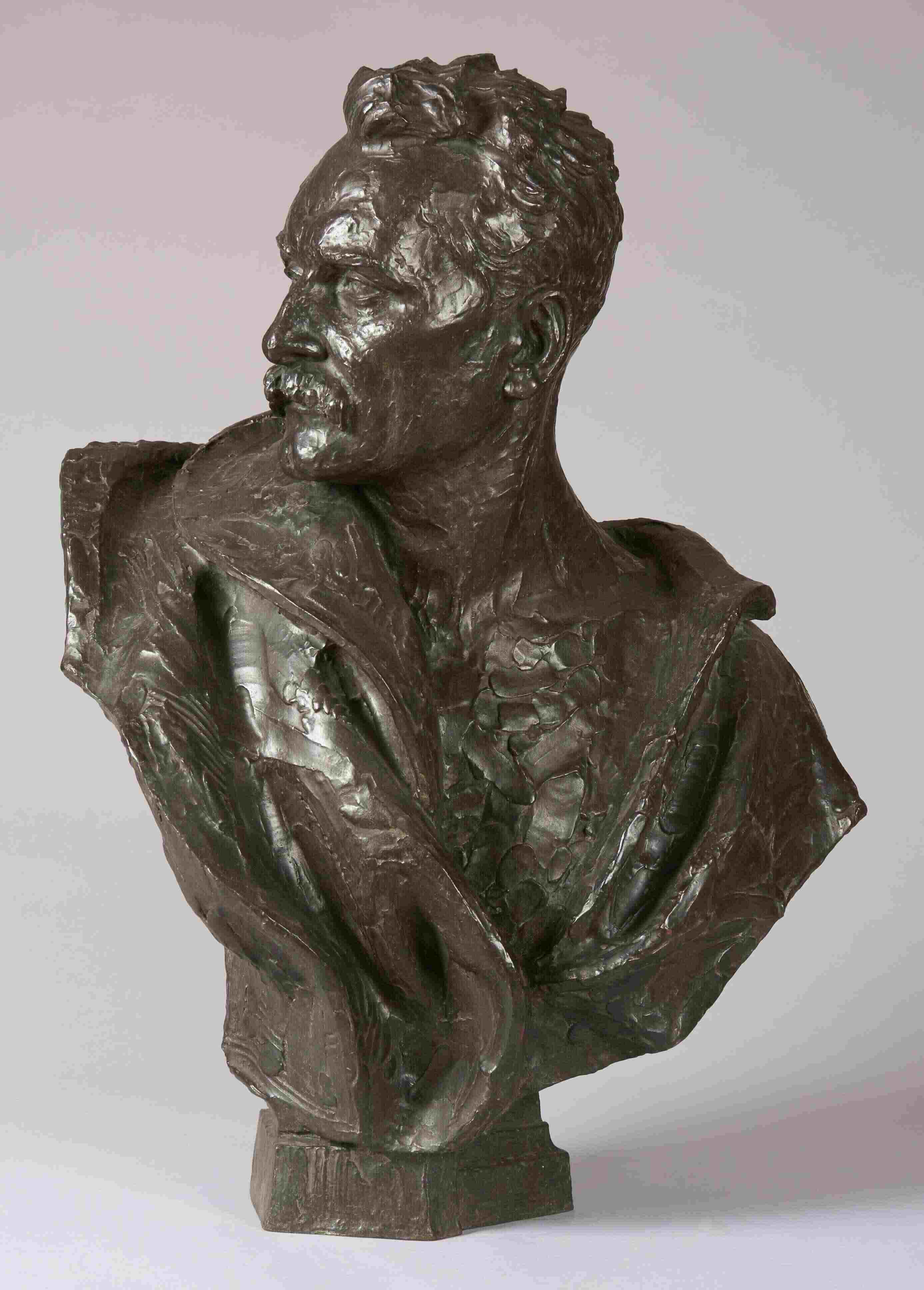 James Pittendrigh MacGillivray, Portrait of an Artist, William Skeoch Cumming (1864-1929), 1920. City Art Centre, Museums & Galleries Edinburgh.