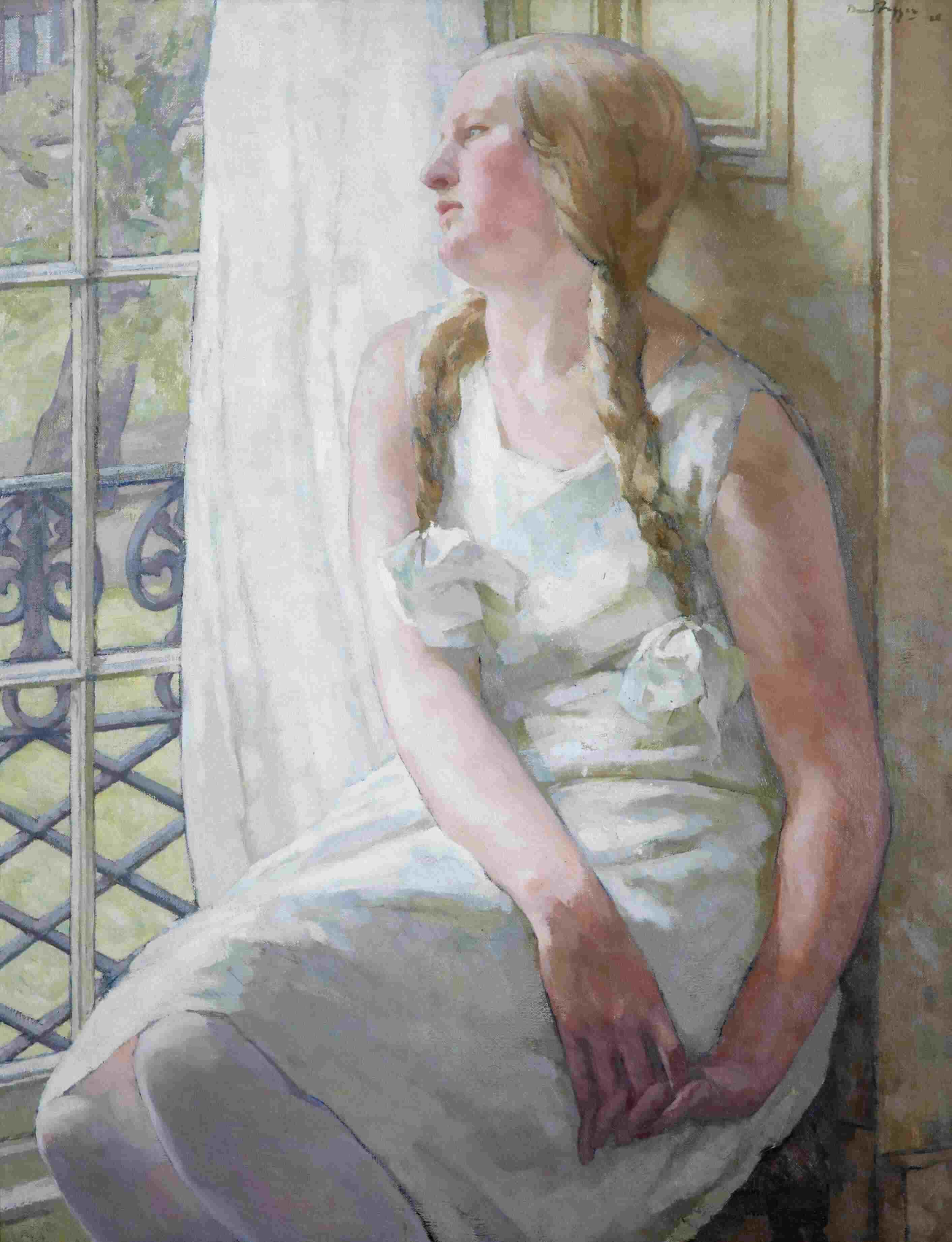 David Foggie, Dreams, c.1928. City Art Centre, Museums & Galleries Edinburgh.
