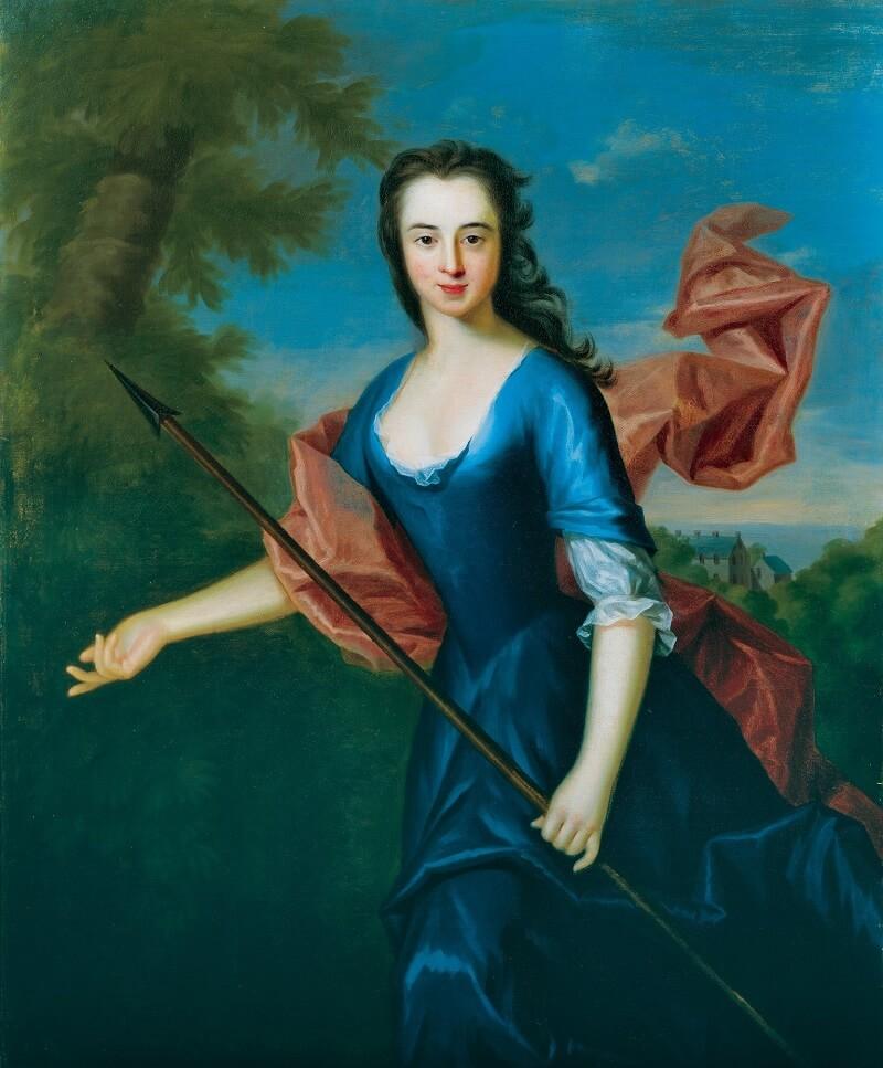 Allan Ramsay, Katherine Hall of Dunglass, 1745. City Art Centre, Museums & Galleries Edinburgh