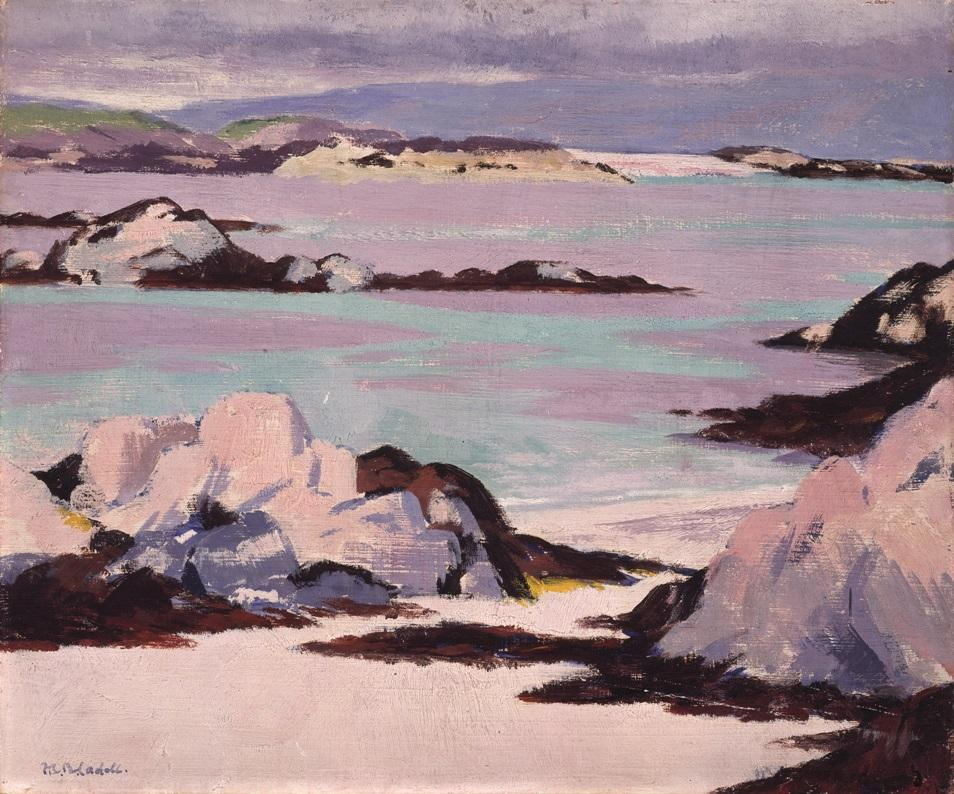 FCB Cadell, Iona, early 20th century, oil on canvas