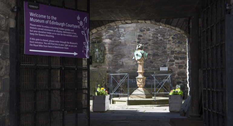 Museum of Edinburgh Courtyard
