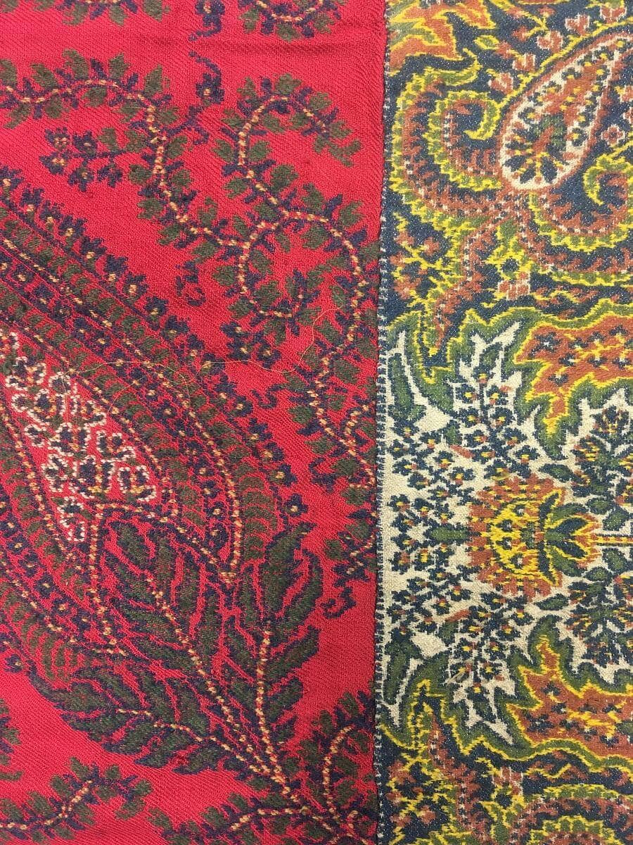 Detail of a 'Paisley' shawl made in Edinburgh, early 19th century © City of Edinburgh Council Museums & Galleries; Museum of Edinburgh