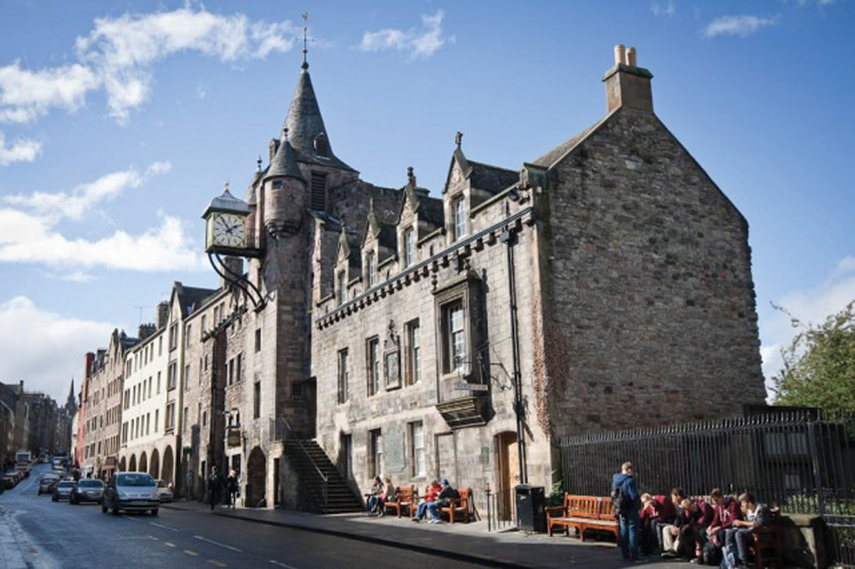 The People's Story Museum, opened in 1989 in the historic Canongate Tolbooth © The City of Edinburgh Council Museums & Galleries