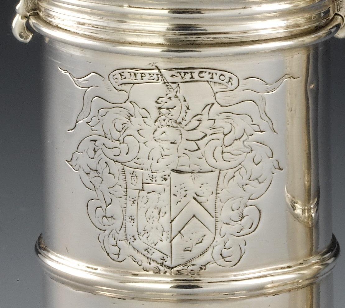 Detail of family crest (image NMS)