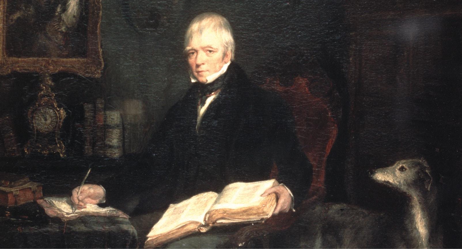 Walter Scott painting