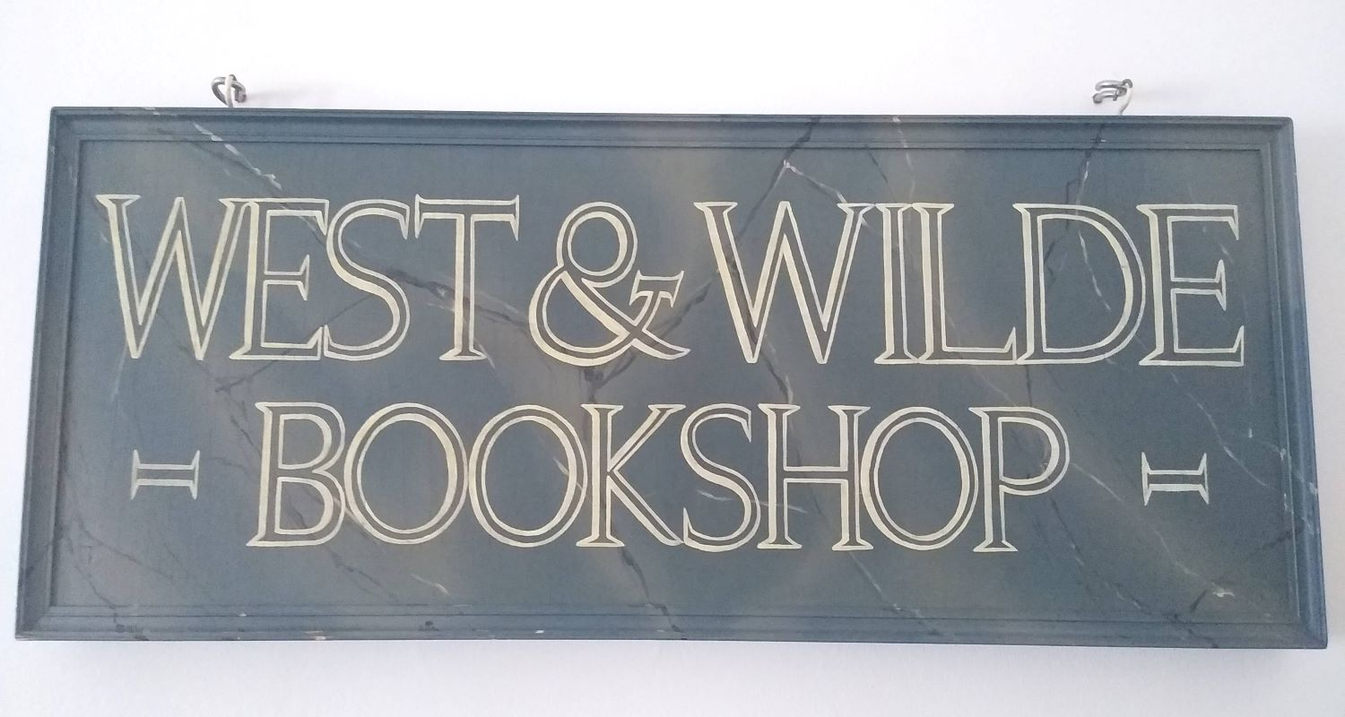 West-and-Wilde-bookshop-sign