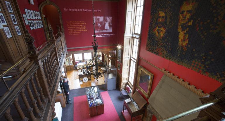 Writers' Museum Inside