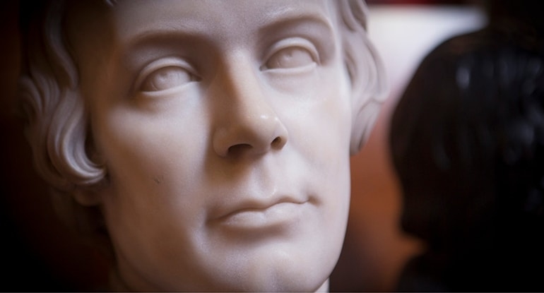Writers' Museum Burns bust
