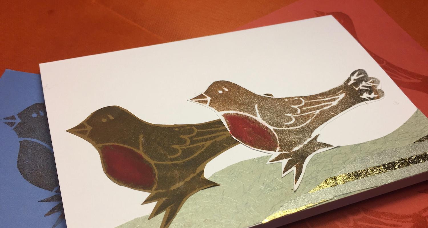 Printmaking for Christmas