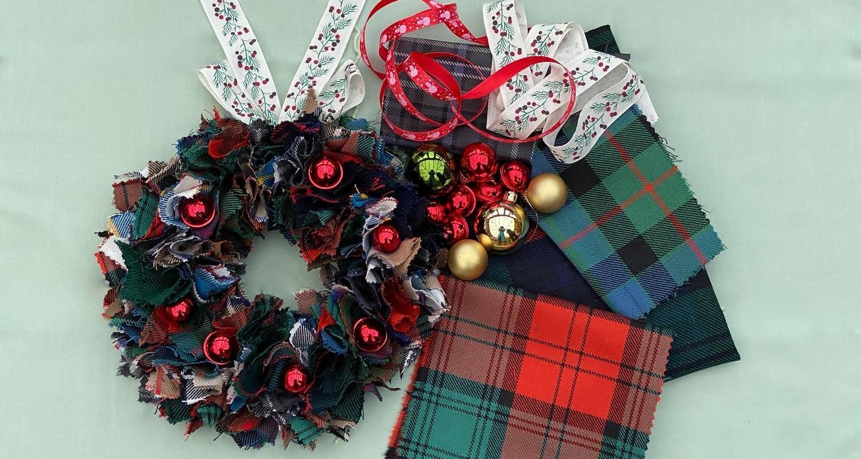 ADULT WORKSHOP Tartan Wreaths