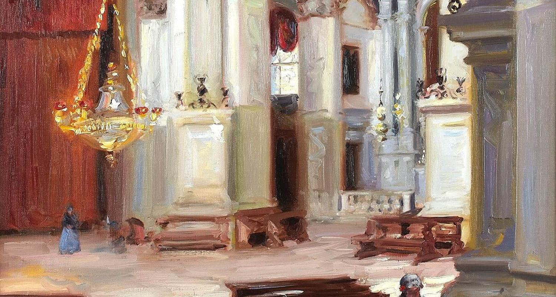 Cadell - Interior - Santa Maria della Salute, Venice - Detail