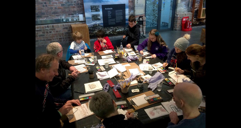 Capturing Classical Edinburgh with the Edinburgh Sketcher