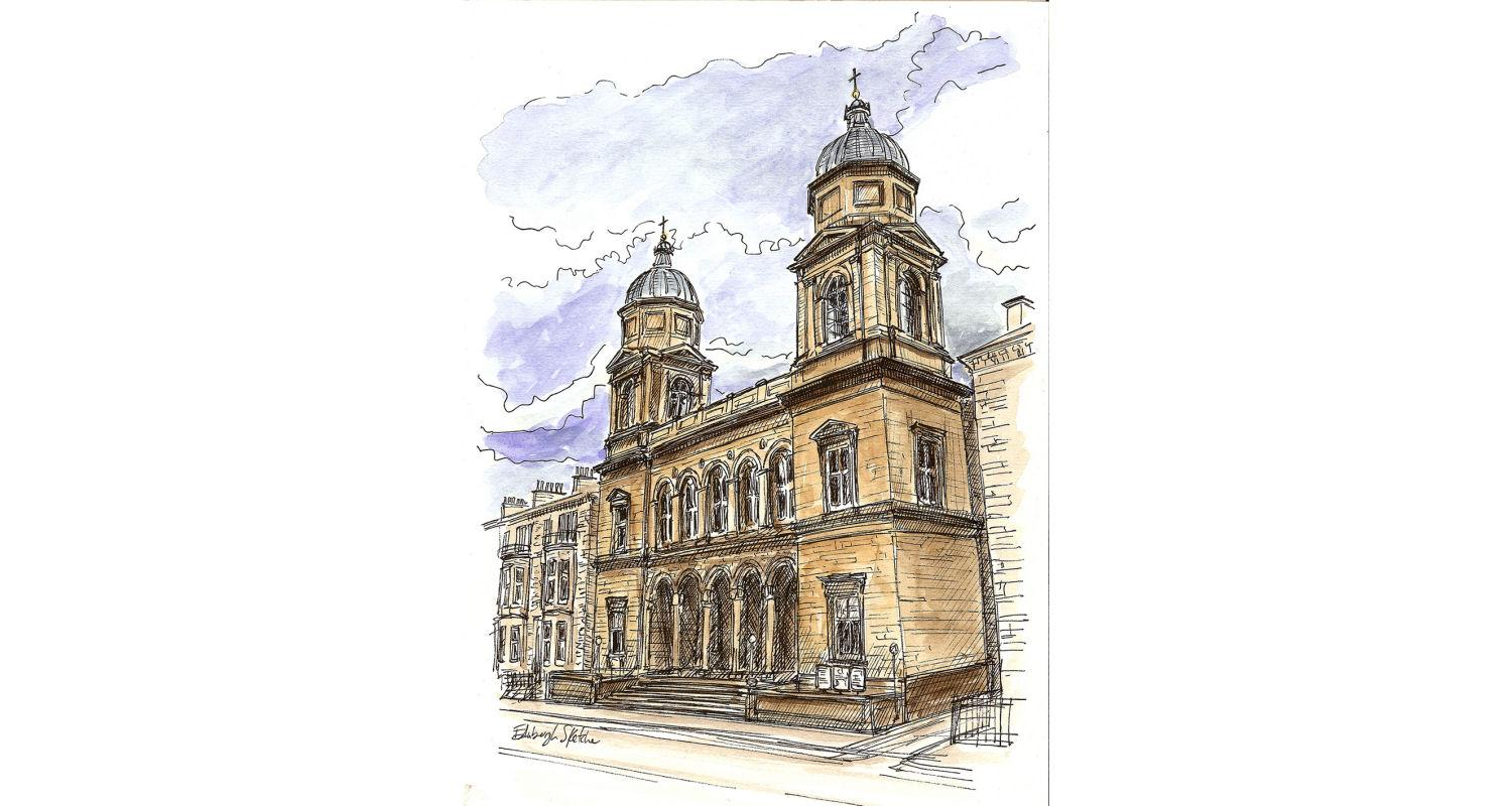 Capturing Classical Edinburgh with the Edinburgh Sketcher