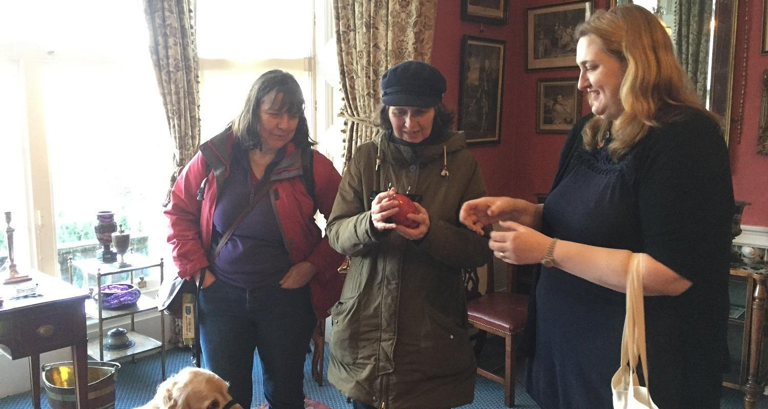 DESCRIPTIVE TOUR FOR VISUALLY IMPAIRED VISITORS LAURISTON CASTLE