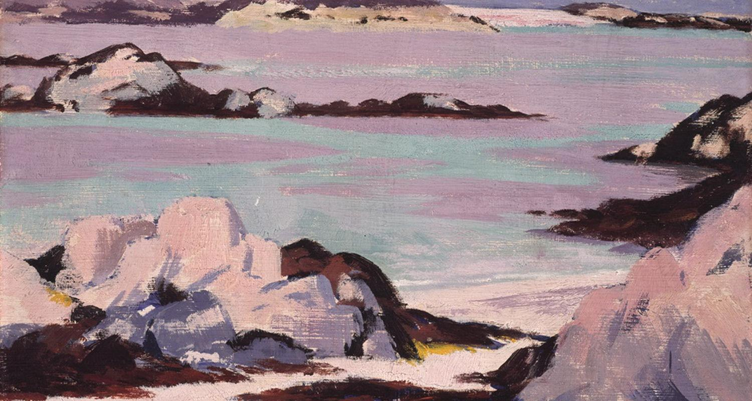 Detail from Iona, FCB Cadell (1928)
