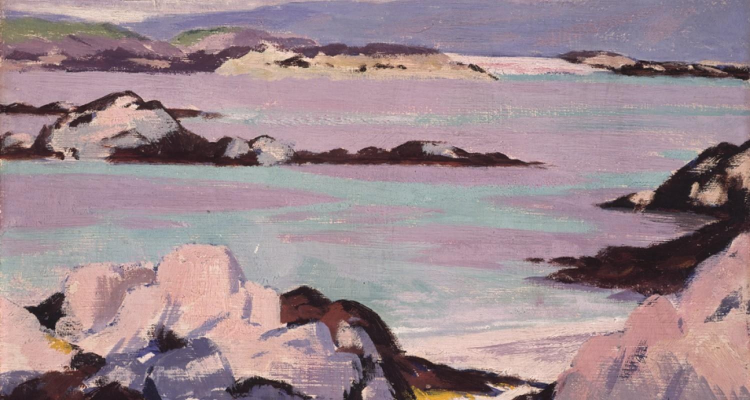 Detail from Iona by FCB Cadell