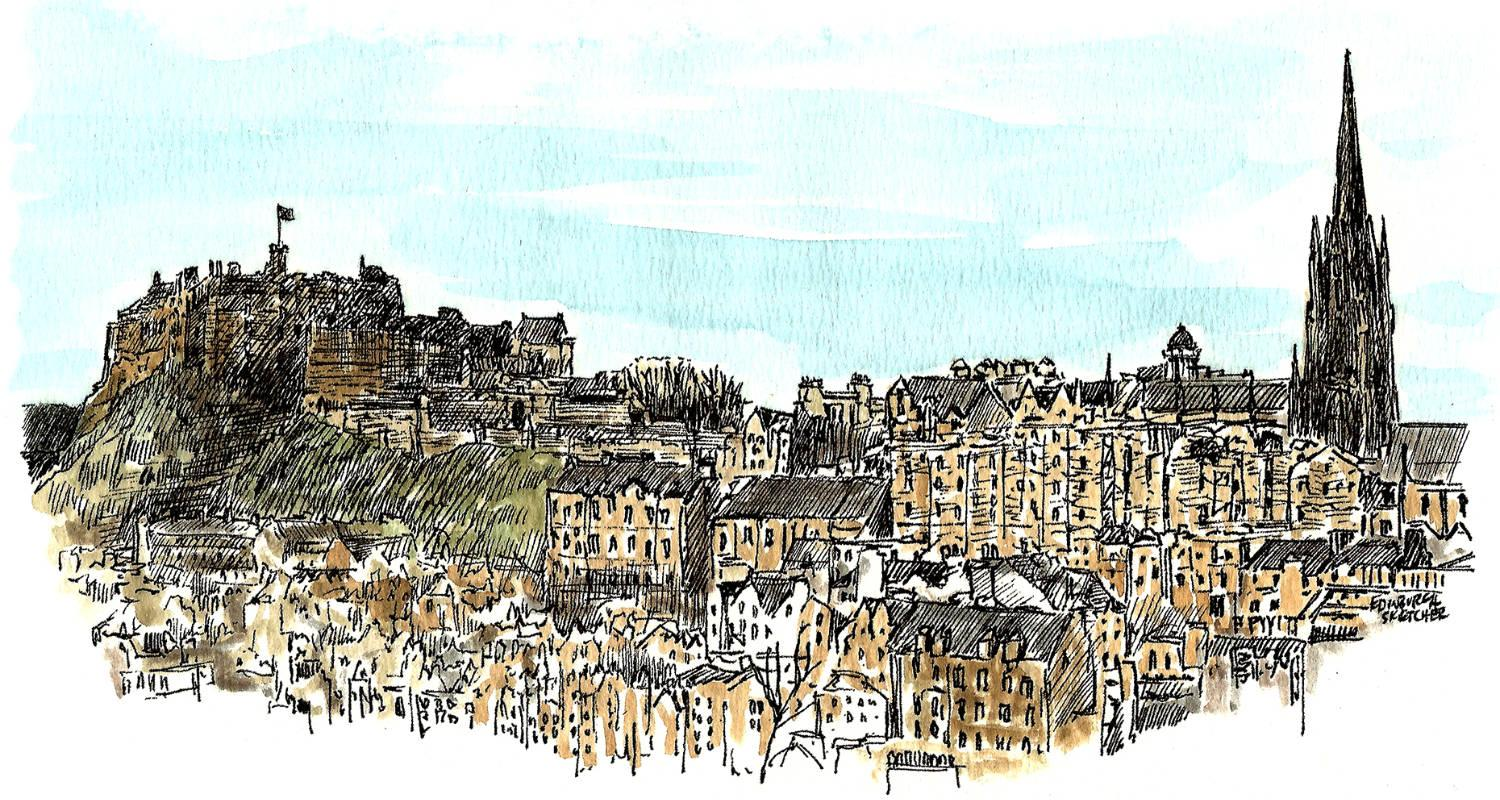 Edinburgh Sketcher
