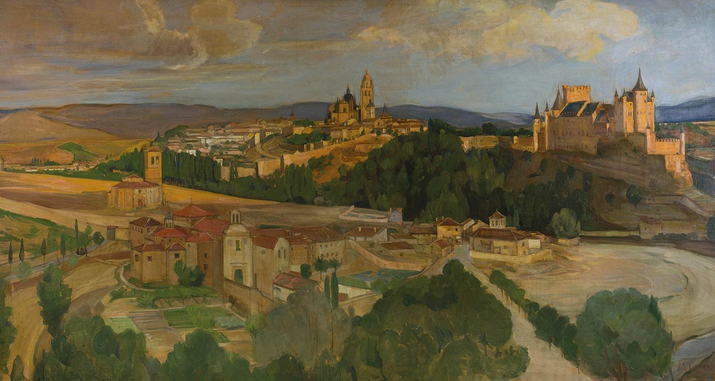 Mary Cameron, Segovia, Castile (detail), 1906-1907 Private Collection. Photo: Eion Johnston