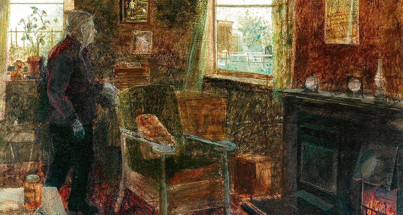 Interior, Monk's Cottage. Victoria Crowe.