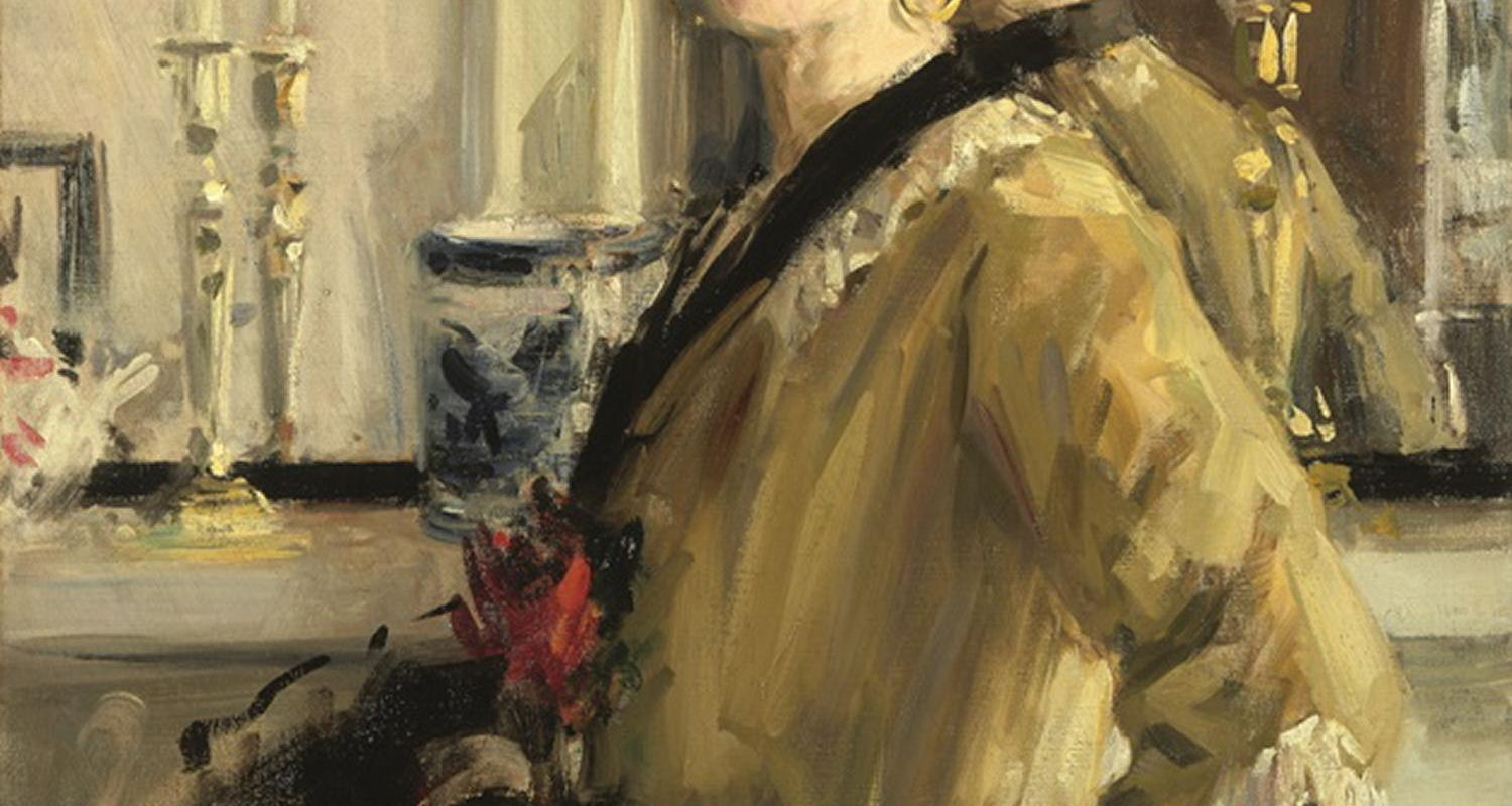 Francis Campbell Boileau Cadell The Black Hat, 1914