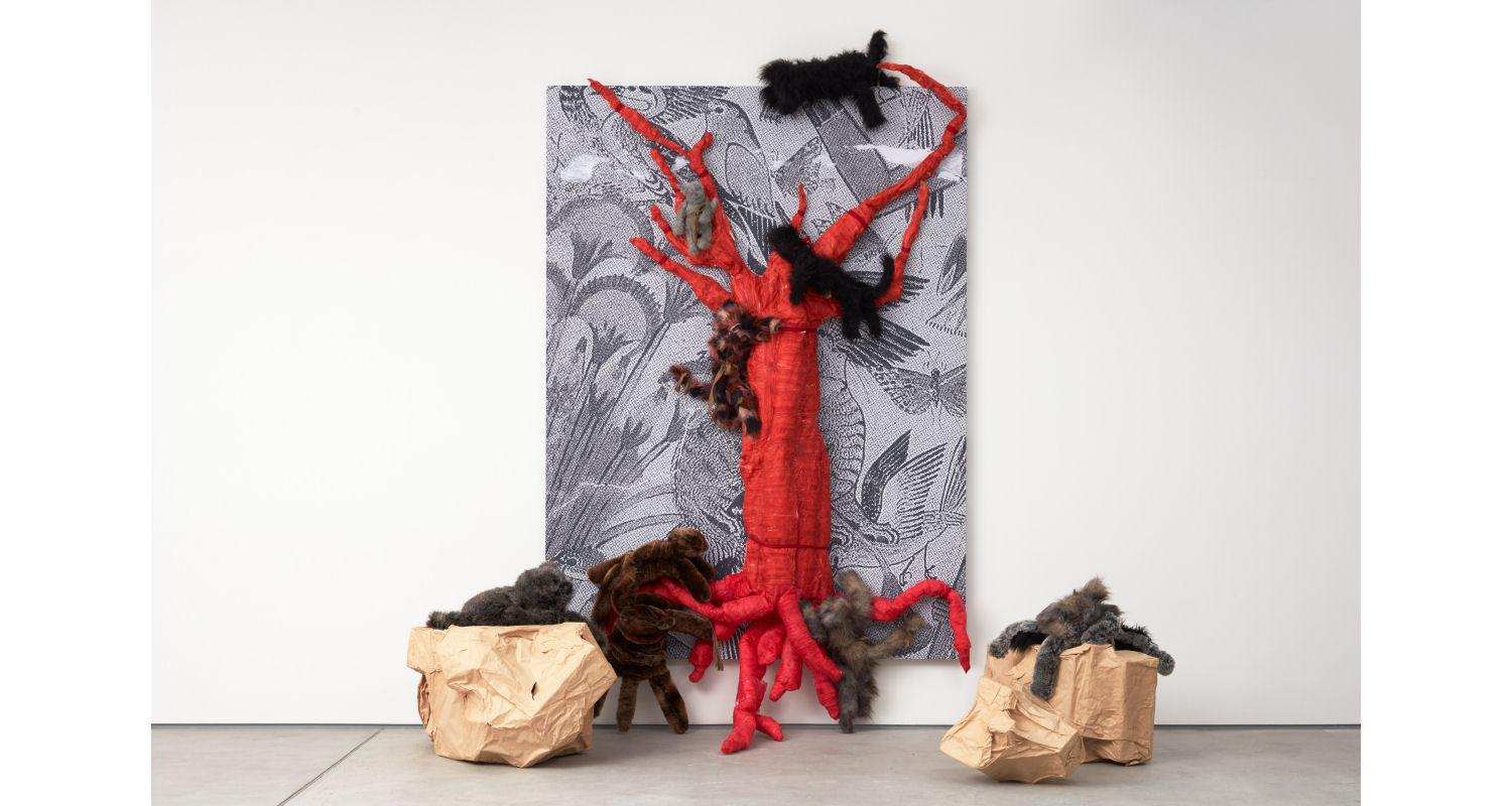 Monster Chetwynd, Cat People, 2018, (C) The artist, courtesy Sadie Coles HQ, London. Photo by Robert Glowacki