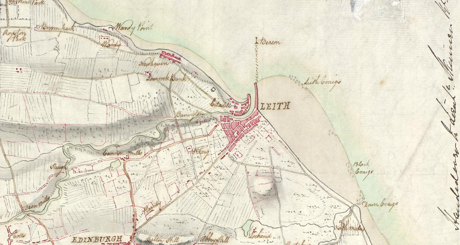 LECTURE Discovering Leith through maps 6 october
