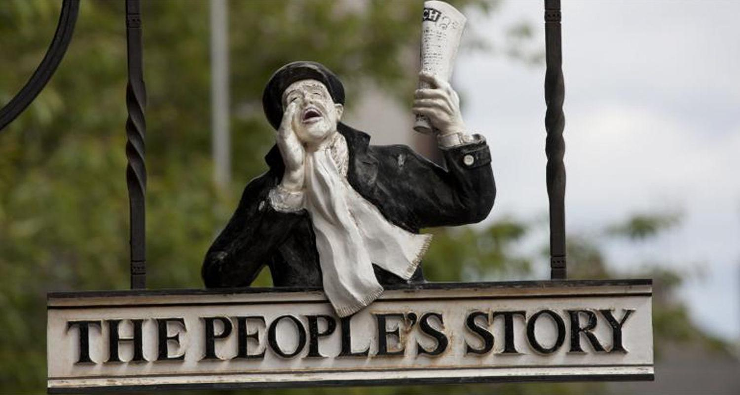People's Story Sign