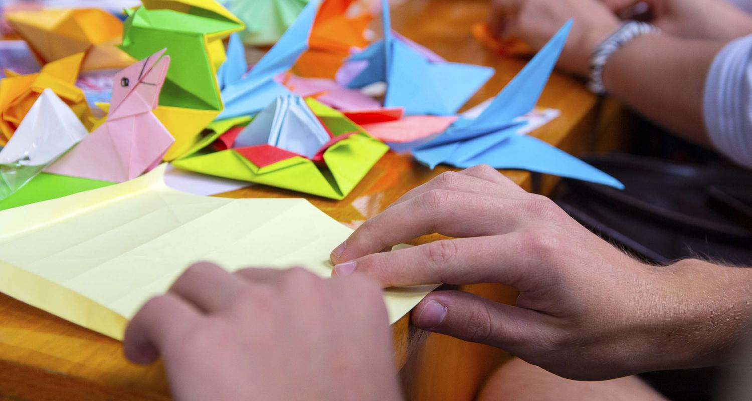 Magic of Origami - The Japanese Art of Paper Folding