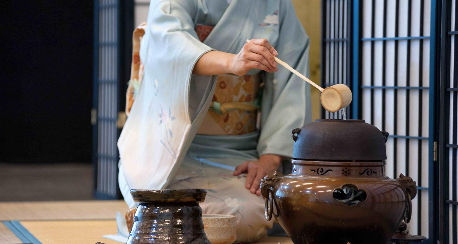 Cup of Peace and Simplicity – Tea Ceremony Demonstration