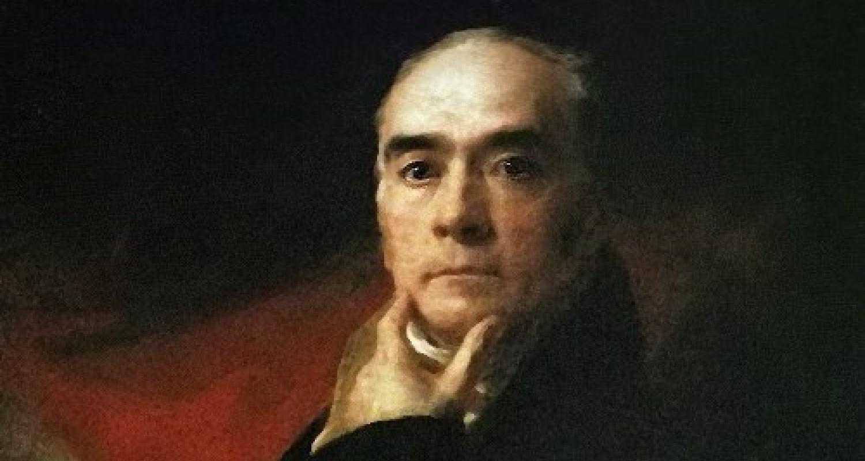 Detail from Sir Henry Raeburn self-portrait
