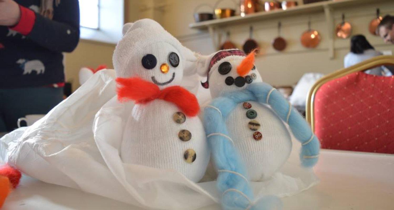 Sparkling Snowmen at Lauriston Castle