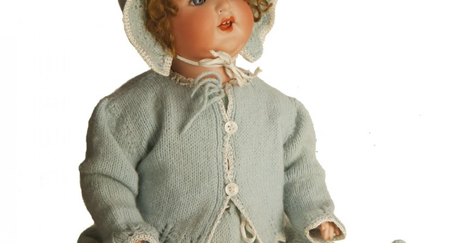 Doll at Museum of Childhood