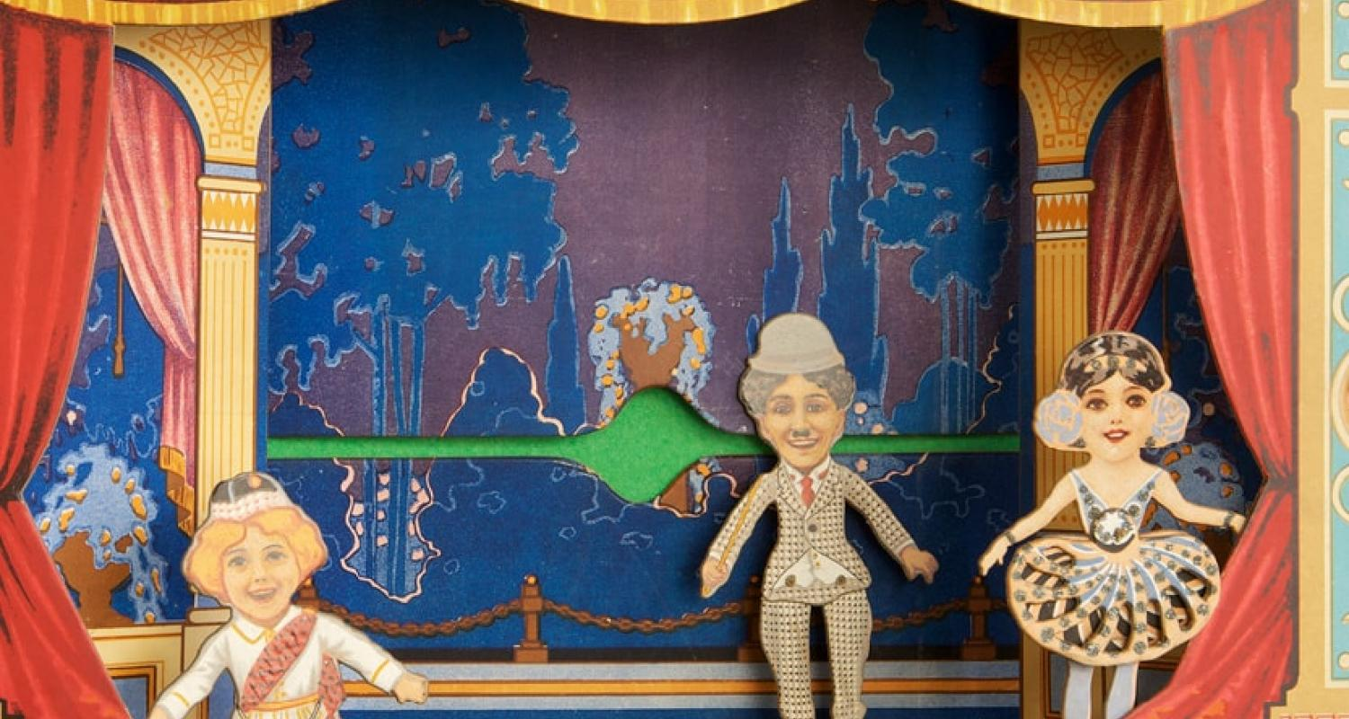 Puppet theatre at Museum of Childhood