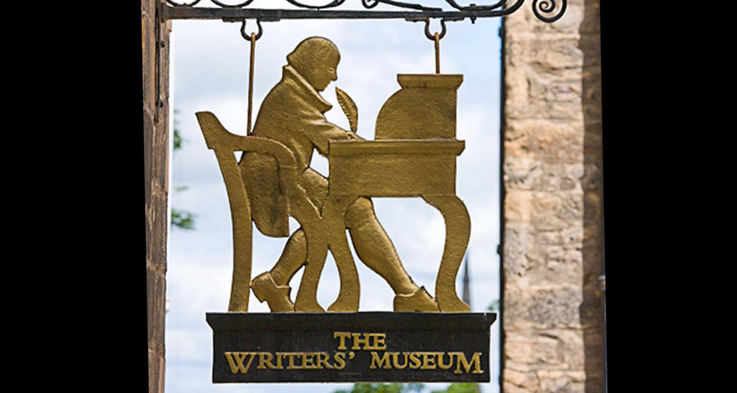 Writers Museum Sign