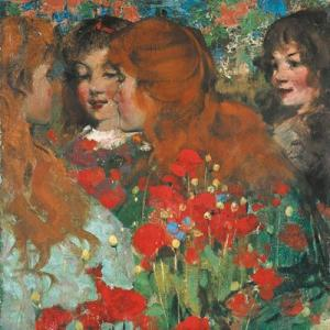 'Poppies' Henry, George, 1858–1943
