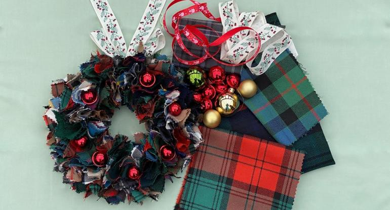 ADULT WORKSHOP Tartan Wreaths