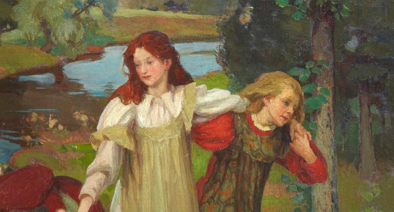 Charles H. Mackie, There were Three Maidens pu'd a Flower (By the Bonnie Banks o Fordie) c.1897