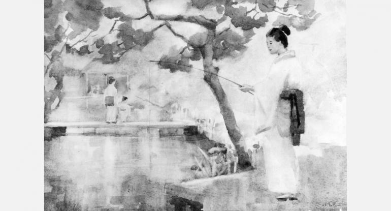 Mary Rose Hill Burton, Japanese Scene