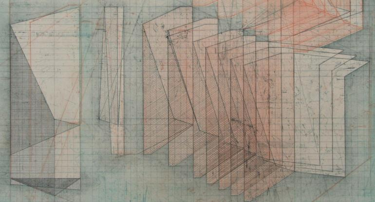 Bronwen Sleigh, 'Nile Avenue Study I', etching, 2017