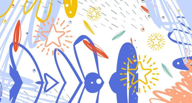City Art Stars graphic