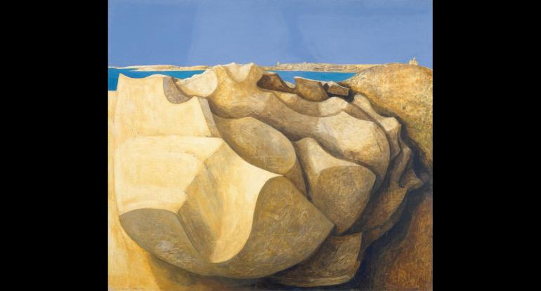 Rocks, St. Mary's, Scilly Isles. Barns-Graham, Wilhelmina (b.1912) 2012 Trustees of the Barns-Graham Charitable Trust