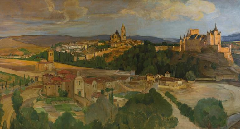 Mary Cameron, Segovia, Castile (detail), 1906-1907 Private Collection. Photo: Eion Johnston