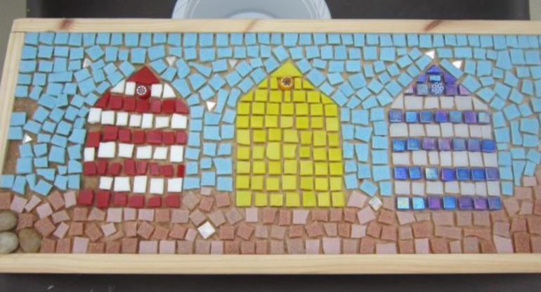 Family Mosaic Class at Lauriston Castle