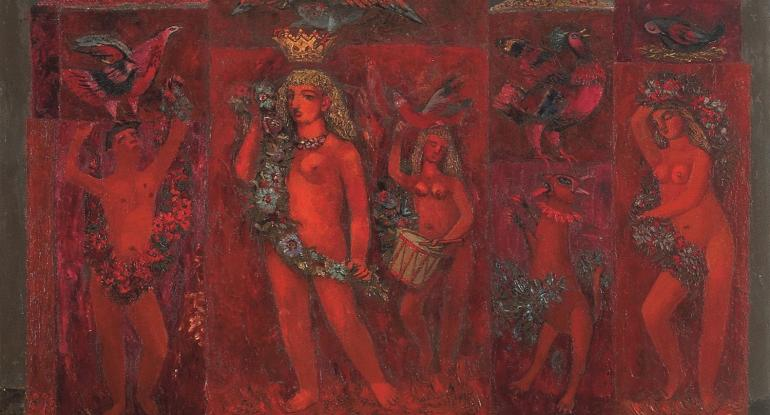 John Maxwell, The Trellis, 1951, courtesy of the Maxwell family.
