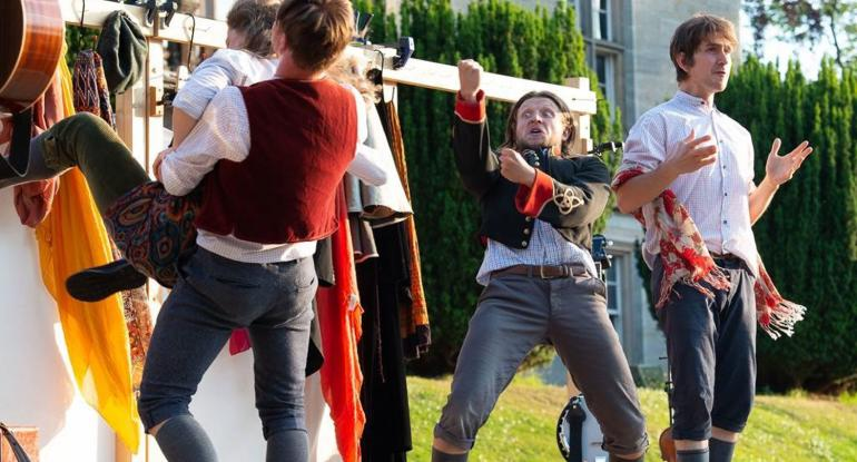 Shakespeare at the Castle - The Three Inch Fools present Much Ado About Nothing