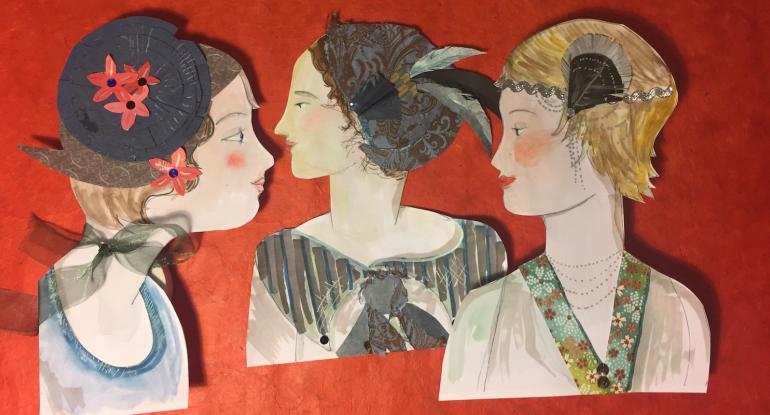 Paper Flappers and Jazz Age Fashion