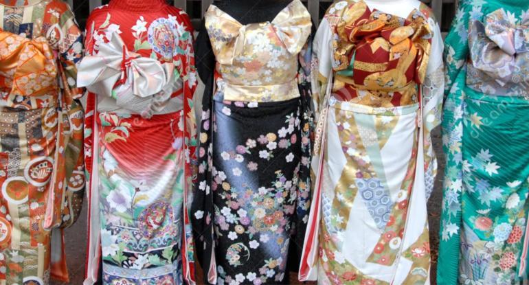 Gorgeous Kimono on Show