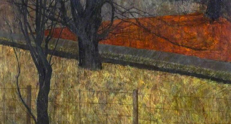 Victoria Crowe: Beech Tree, Winter. Museums & Galleries Edinburgh