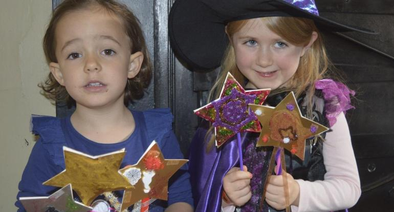 SPECIAL EVENTS FOR FAMILIES Halloween Wand making Workshop Wed 21 October